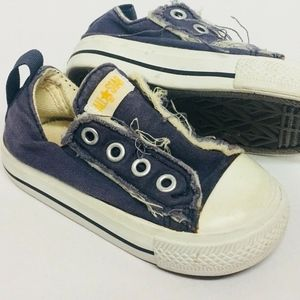 Baby Converse All Star Shoes Navy Blue Size 5